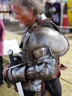 Character at Renaissance Festival in Deerfield Beach