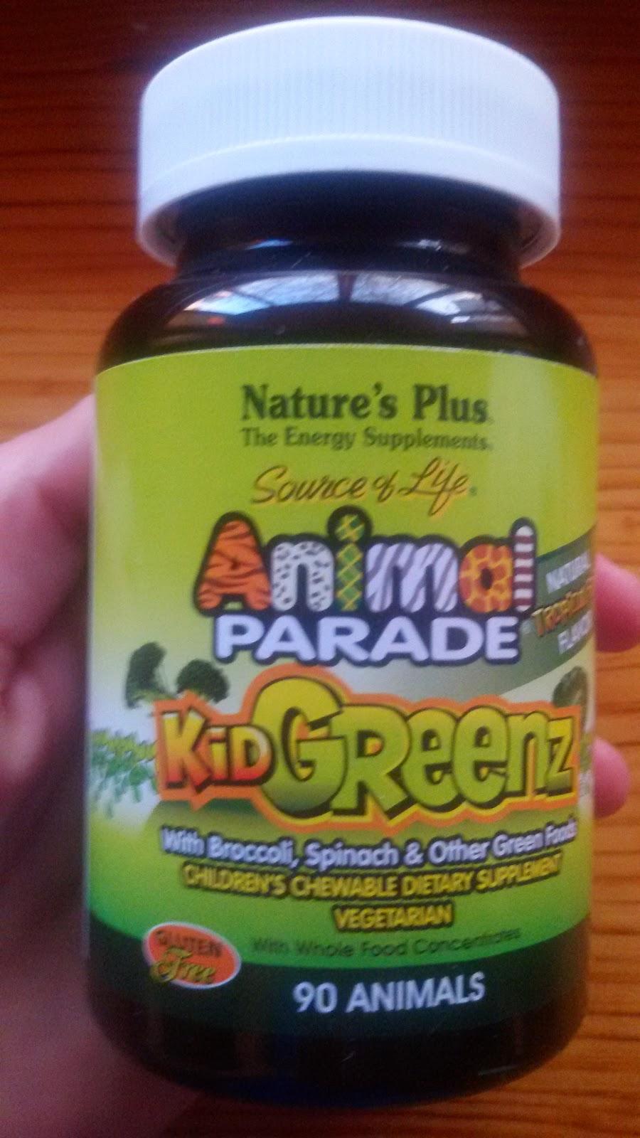 Детские витамины Nature's Plus Animal Parade