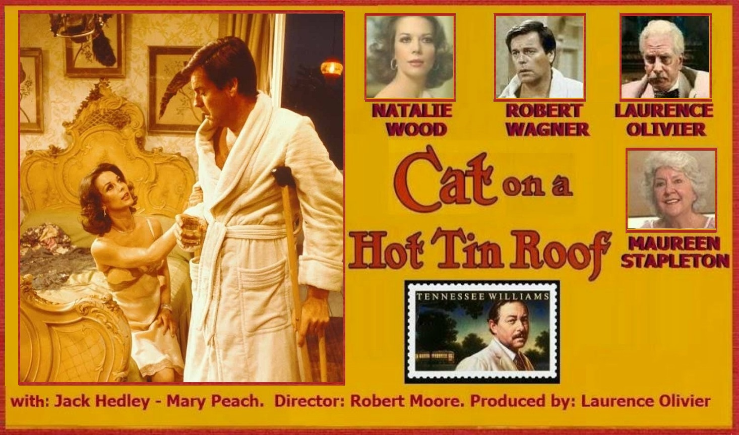 CAT ON A HOT TIN ROOF (1976) WEB SITE