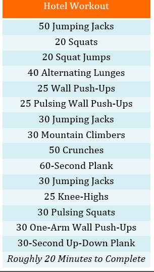 Call Me Mrs Rapp On The Go Circuit Workout
