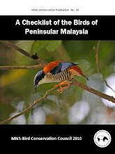 A Checklist of the Birds of Peninsular Malaysia