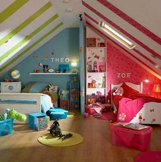 d co chambre frere et soeur. Black Bedroom Furniture Sets. Home Design Ideas