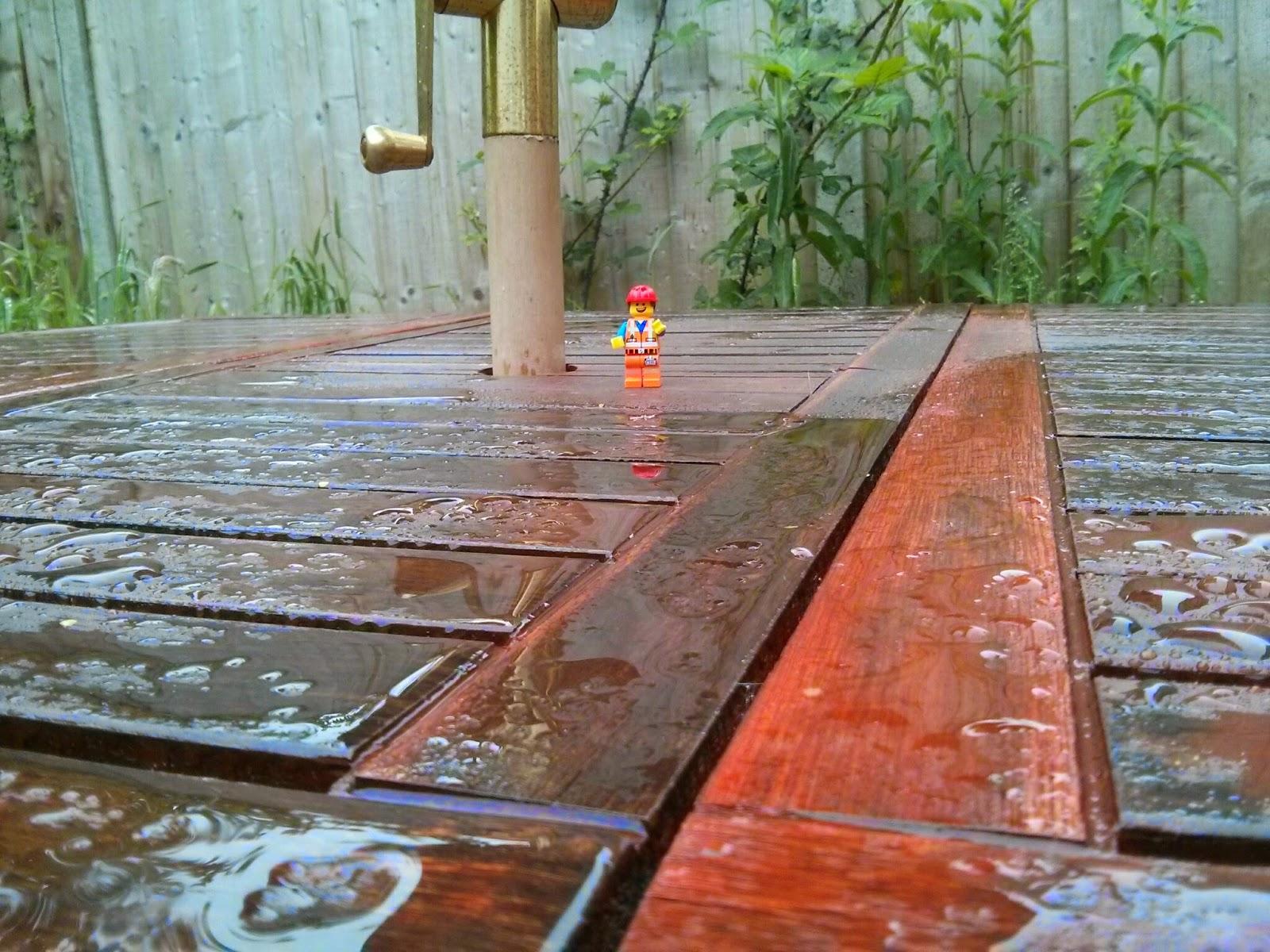 Kyle Emmett in the Rain