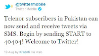 Telenor Pakistan Twitter