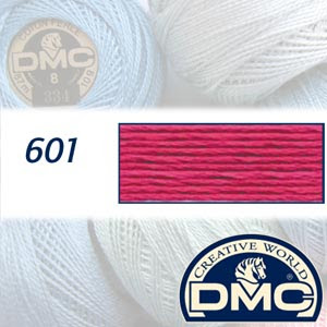 DMC Pearl Cotton 8 - 601