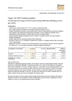 Fugro, Q1, 2015, operating report, front page
