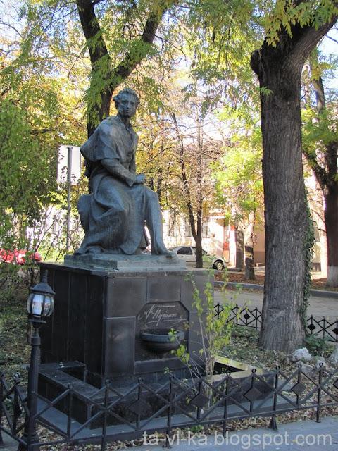 Симферополь памятник Пушкину
