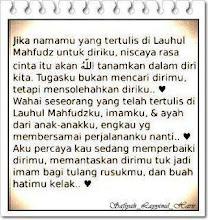 cinta dari ALLAH