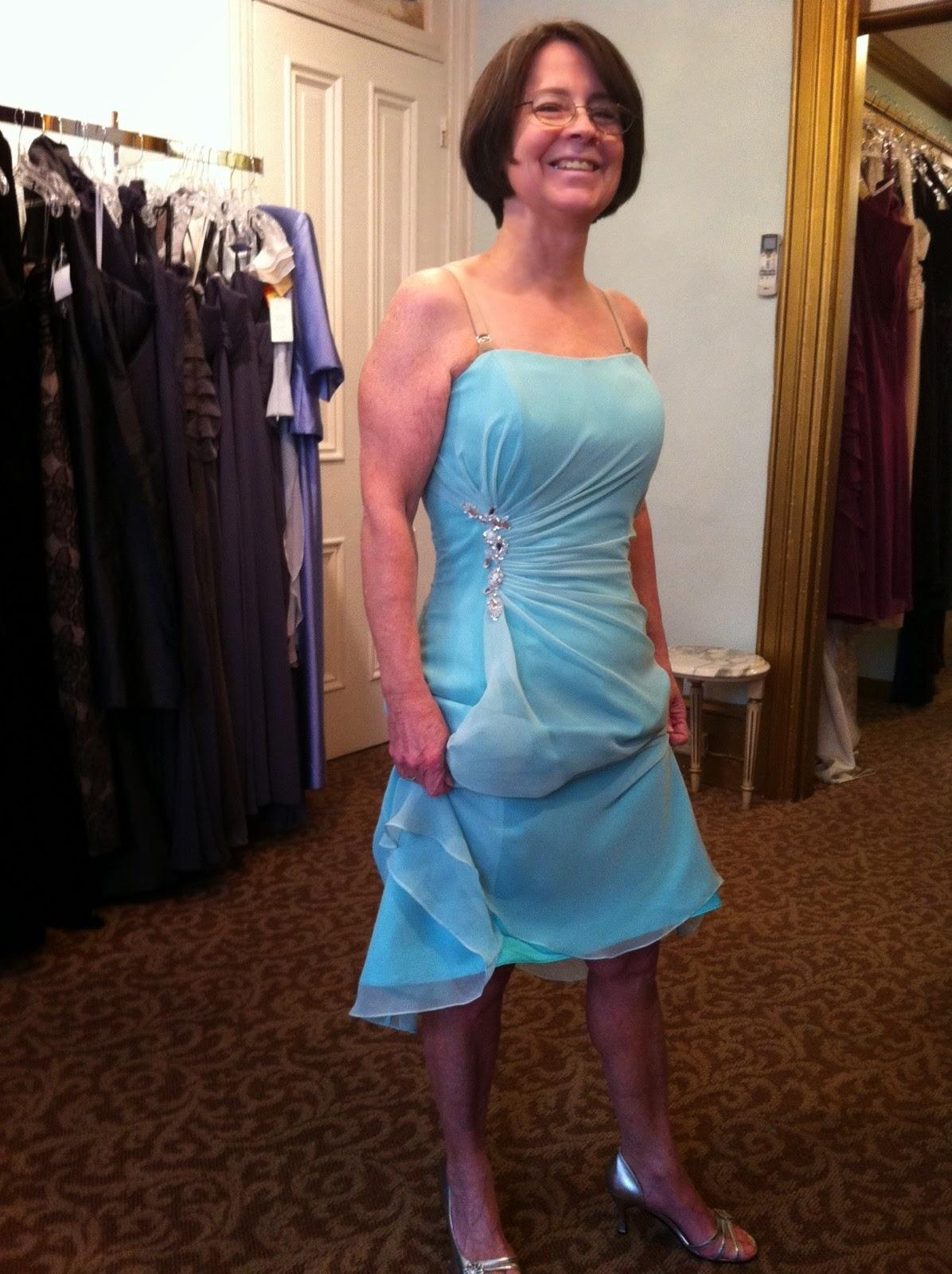 Doeblerghini Bunch: MOB Dresses - Short Blue