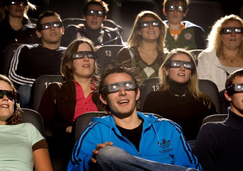 Saiu na frente das cidades de nossa região e já tem cinema 3d