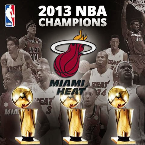 CAMPEON NBA 2013 MIAMI HEAT