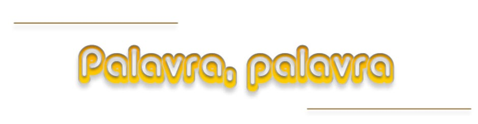 Palavra, palavra