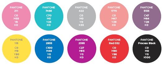 Fashion color matching chart 37