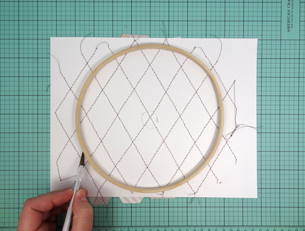 Amanda Coleman Chickaniddy Crafts Embroidery Hoop tutorial 2