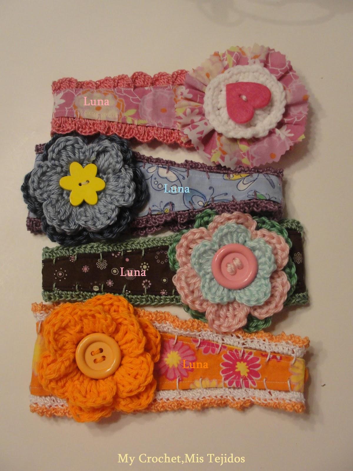 my crochet mis tejidos by luna puntillas tejidas y su
