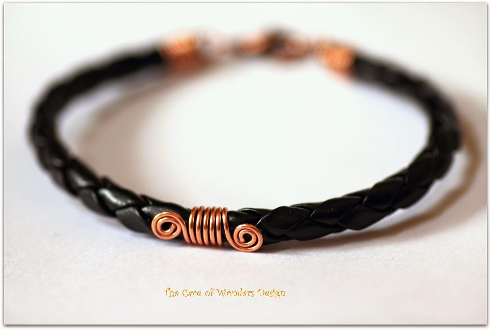 http://it.dawanda.com/product/45177050-Armband-Maenner-Kunstleder-und-Kupfer