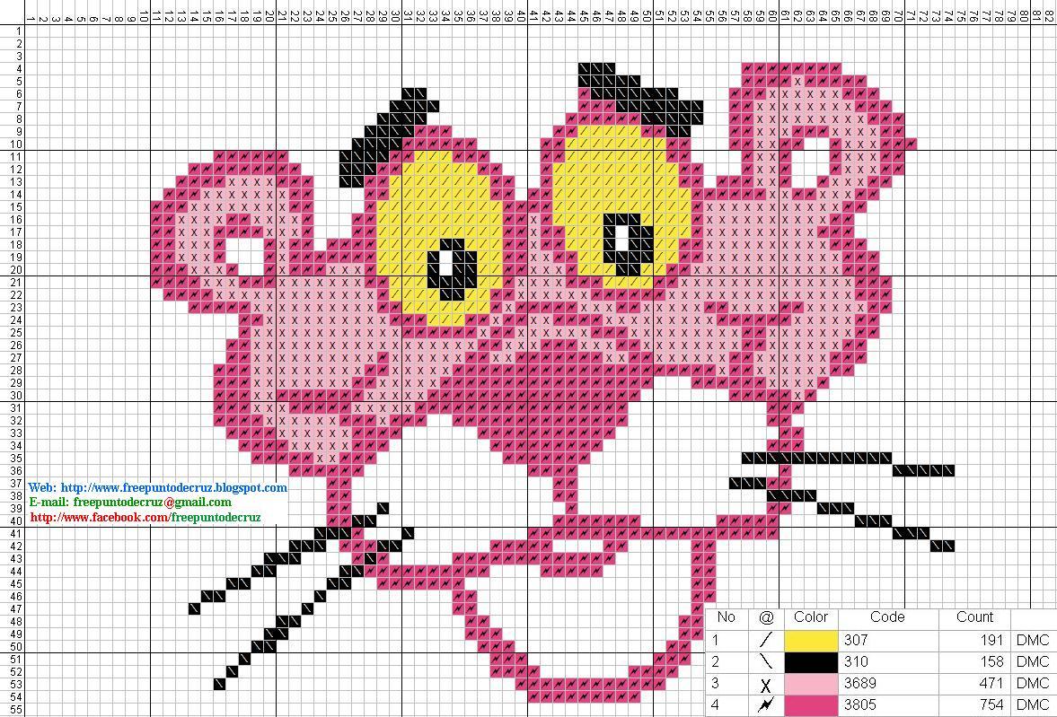 Dibujos punto de cruz gratis pantera rosa punto de cruz - Videos de punto de cruz ...