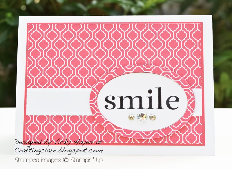 Join Stampin' Up celebration card using Happy Day stamp set