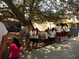 Alumnos de la escuela
