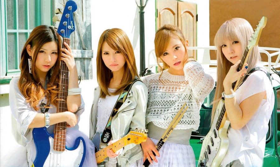 SCANDAL Awanai Tsumori No,Genki dene Promotion Photo 3