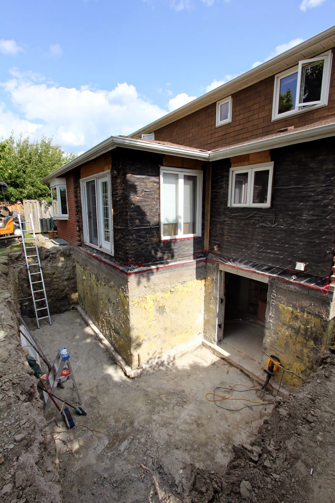 Home addition from basement and up forums for Building onto your existing home