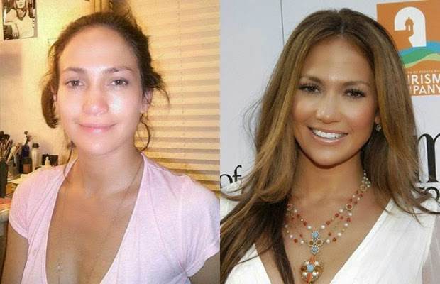 jennifer lopez - جينيفر لوبيز - shocking celebrities without makeup photoshop