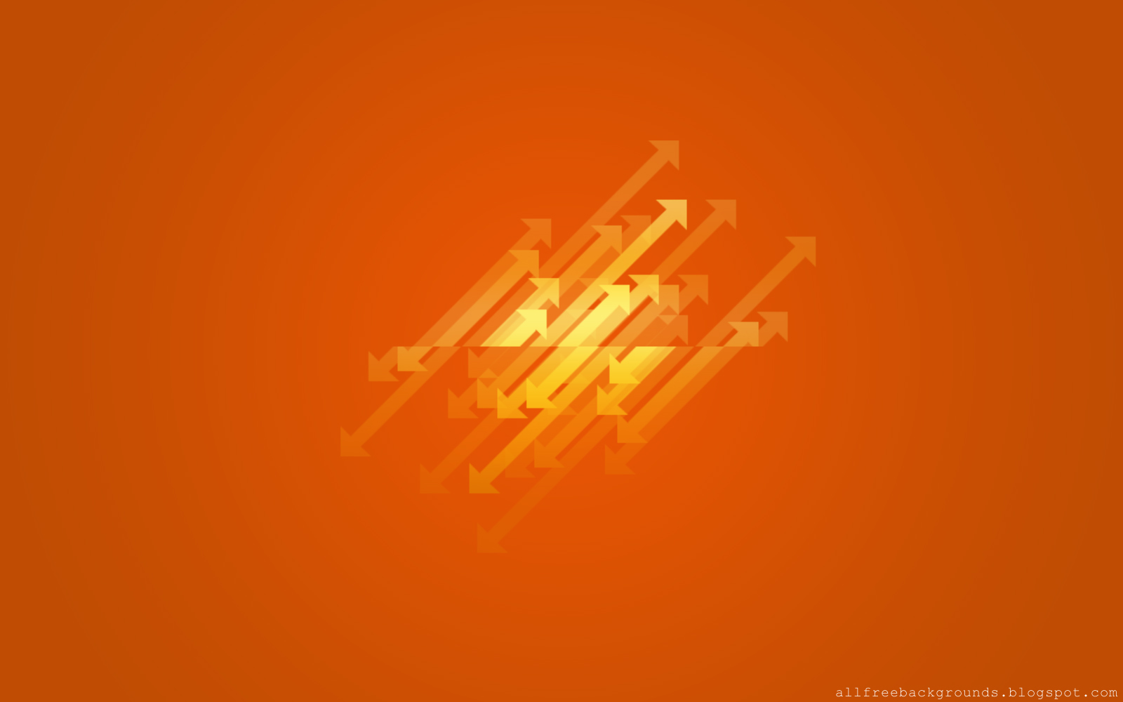 Orange color Simple background