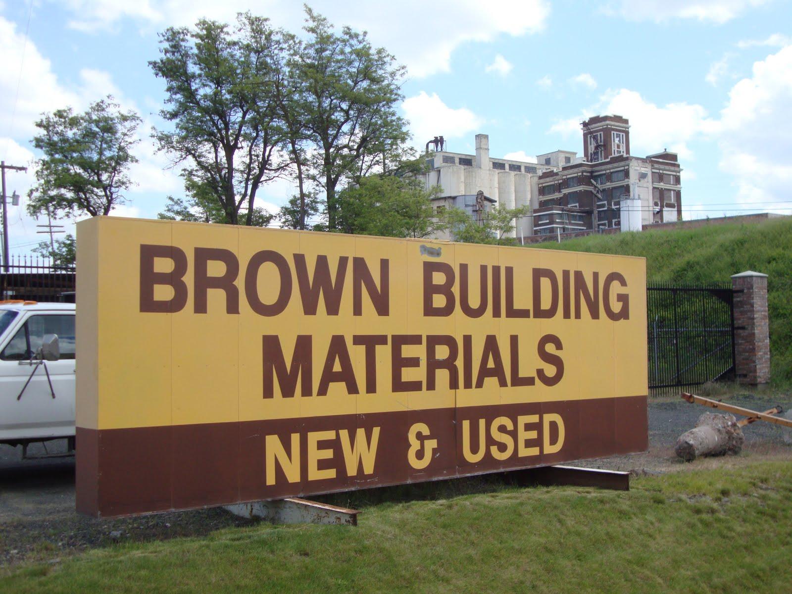 danger garden: Brown Building Materials, a rusty paradise.