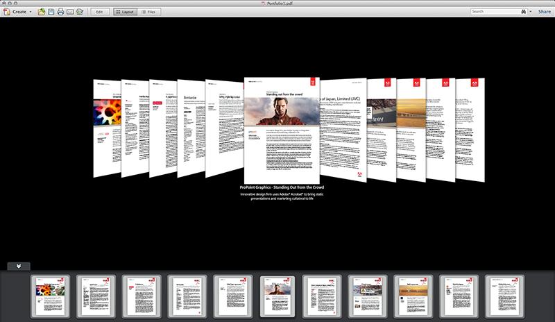 Adobe acrobat portfolio sdk la mejor manera de crear tu for Portafolio de diseno grafico pdf