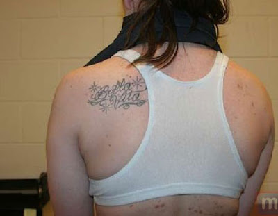 casey anthony tattoo