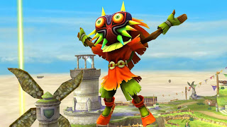 Skull Kid Assist Trophy In Super Smash Bros.