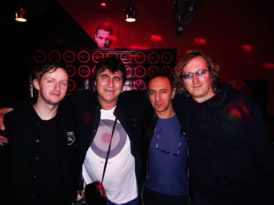 The Chameleons Vox en Exit Bar - 2017
