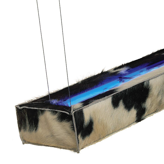 dark d-range cow pendelleuchte