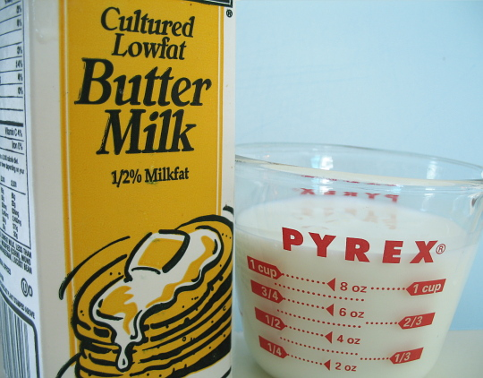 how to make buttermilk from 2 milk