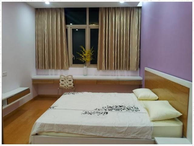 bedrooms in the vista condo