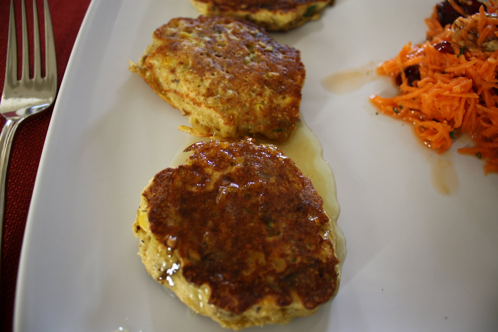 Lactose-Free Girl: Corn Griddle Cakes with Sausage