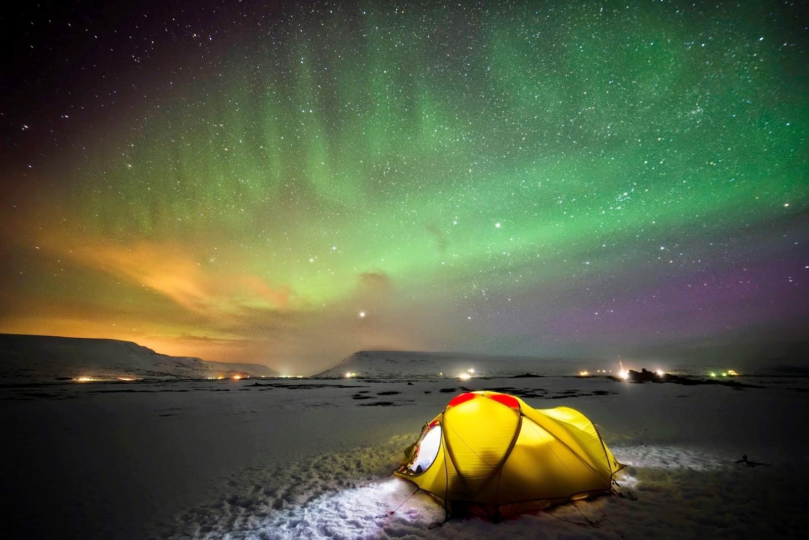 Campings à Islande