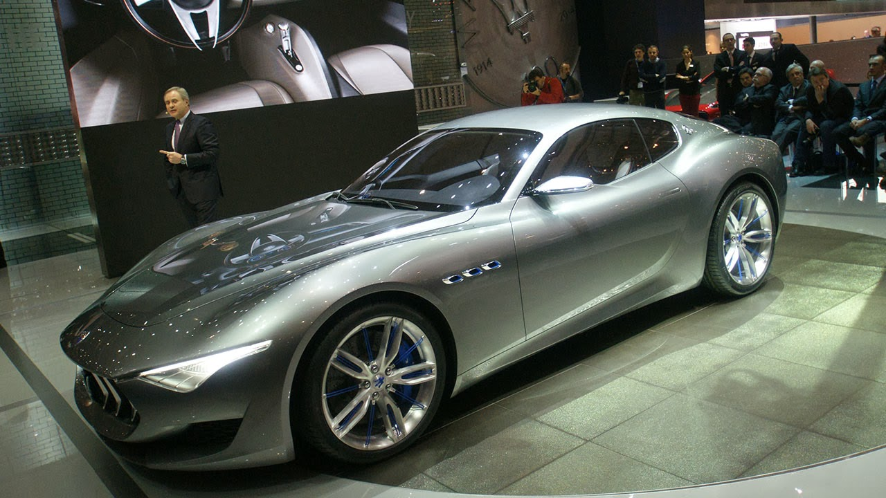 Maserati Alfieri Concept Car show