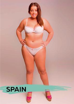 Los cánones de belleza en diferentes partes del mundo - España