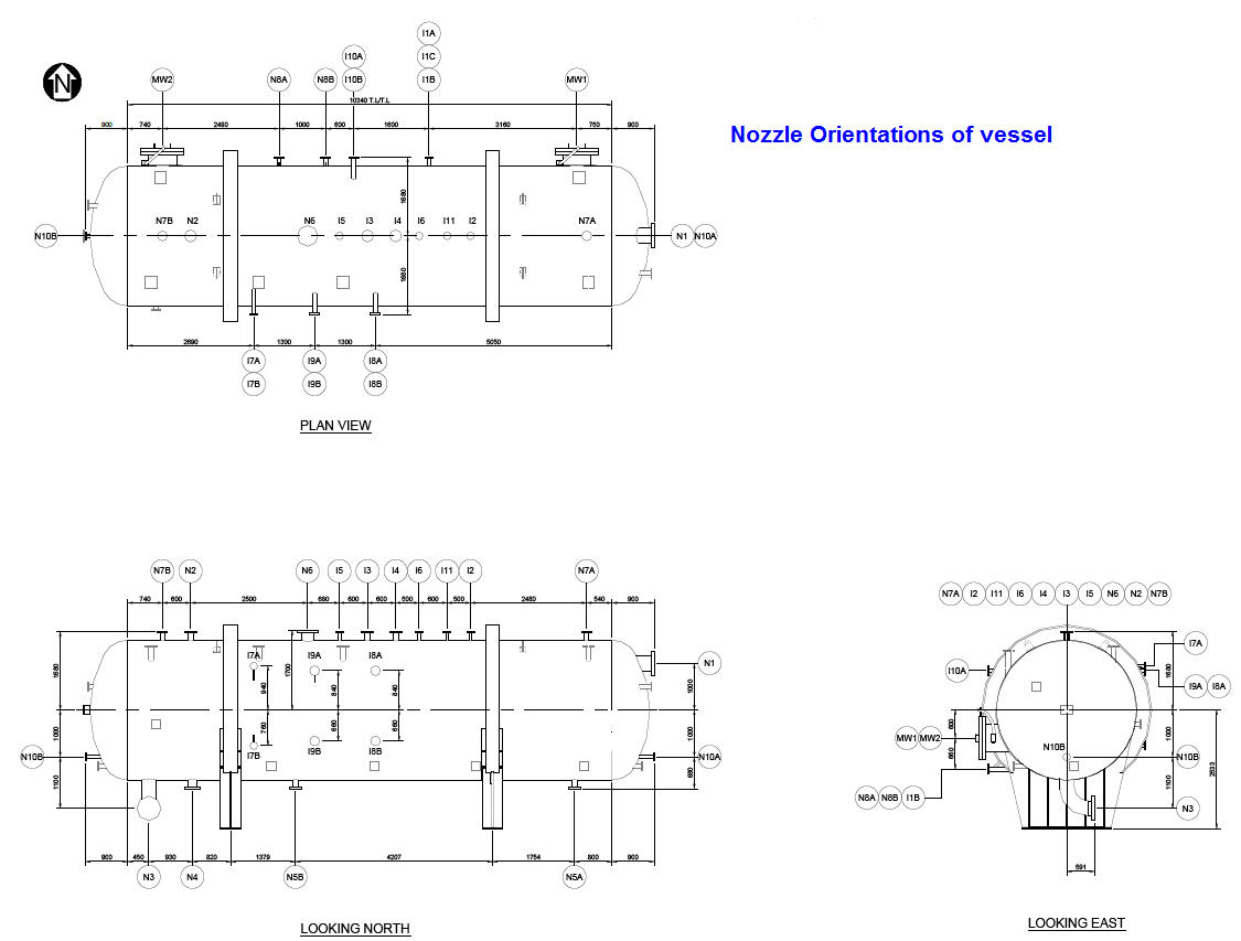 What Are Equipment Nozzle Orientation Piping Design Layout Jobs Typical Example Of