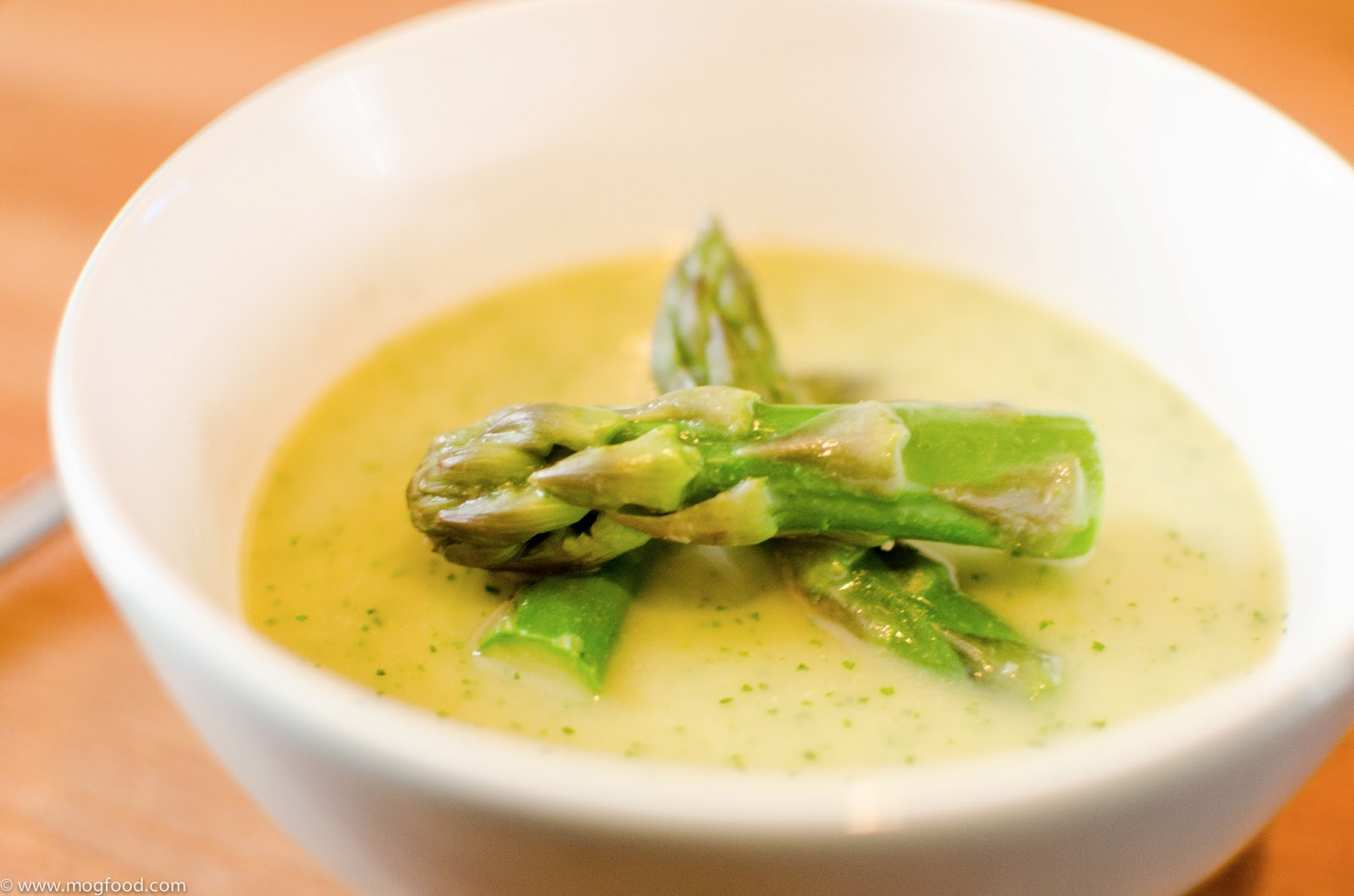 Asparagus and Watercress Soup