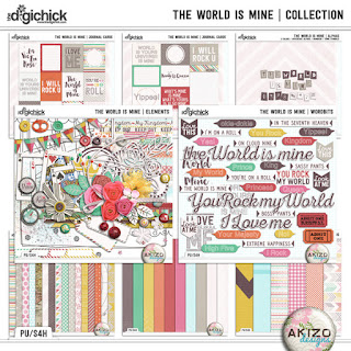 Kit : The World Is Mine - Collection by Akizo Designs