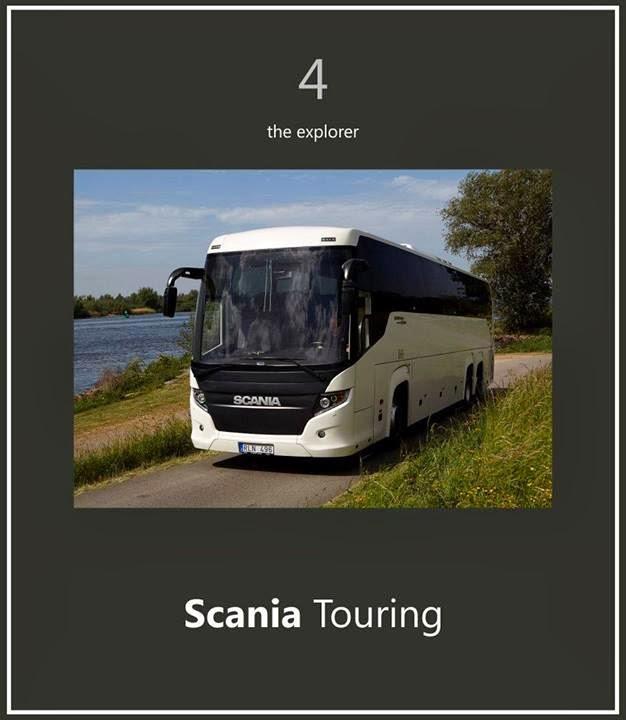 Scania Touring 7 Bus terbaik Dunia