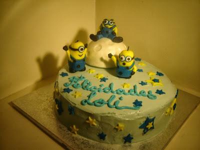 tarta de los Minions