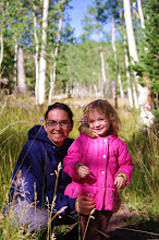 Mom and Jayde Camping