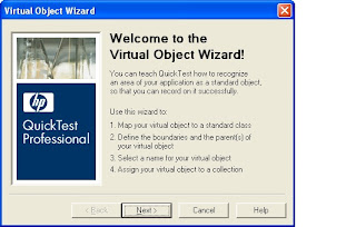 QTP Virtual Object Wizard