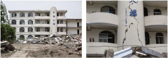 Sichuan Earthquake china shear crack