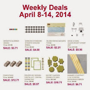 Items on Sale! Apr 8 to Apr 14