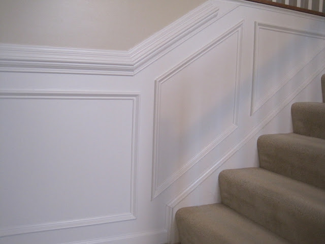 Designed To Dwell: Tips for Installing Chair Rail ...