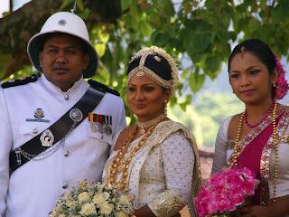 Mariage au Sri Lanka